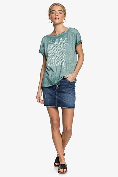 Жен./Одежда/Футболки, поло и лонгсливы/Футболки Женская футболка Roxy Summertime Happiness