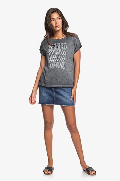 Жен./Одежда/Футболки, поло и лонгсливы/Футболки Женская футболка Summertime Happiness Roxy