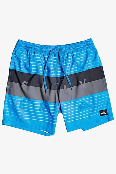 """Муж./Одежда/Шорты/Шорты для плавания Мужские плавательные шорты Word Block 17"""""""