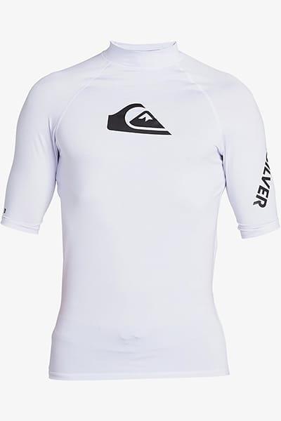 Белый мужская футболка