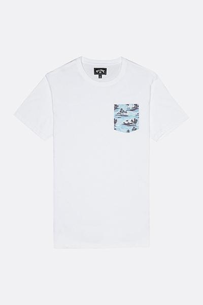 Футболка S1JE16-BIP0 Allday Printed Crew White