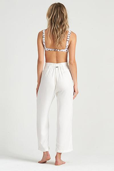 Жен./Одежда/Джинсы и брюки/Широкие брюки Брюки с укороченными штанинами Casual