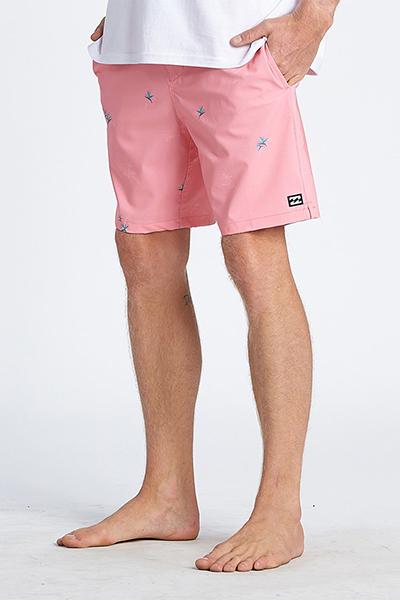 """Муж./Бордшорты/Пляжные шорты/Пляжные шорты Бордшорты с эластичным поясом Sundays Pigment Laybacks 17"""""""