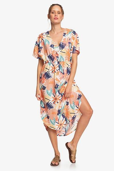 Оранжевый женское платье flamingo shades