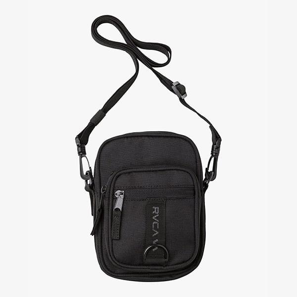 Коралловый сумка через плечо rvca utility pouch