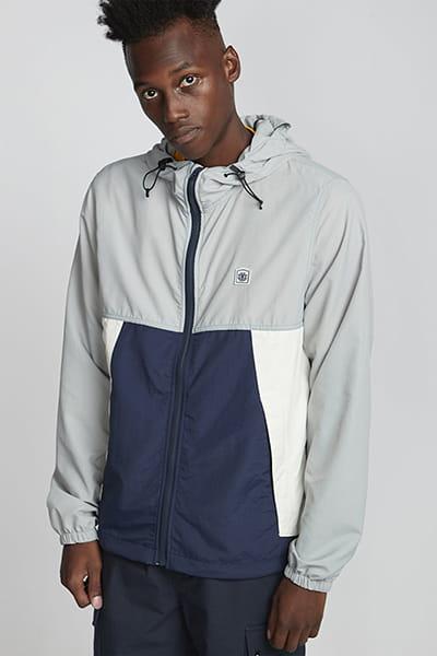 Серый мужская куртка водонепроницаемая koto