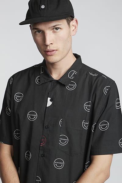 Муж./Одежда/Рубашки/Рубашки с коротким рукавом Рубашка Polka Smile