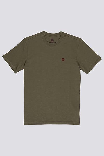 Зеленый мужская футболка с коротким рукавом crail