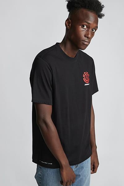 Муж./Одежда/Футболки, поло и лонгсливы/Футболки Мужская футболка из органического хлопка с короткими рукавами Tuckwei