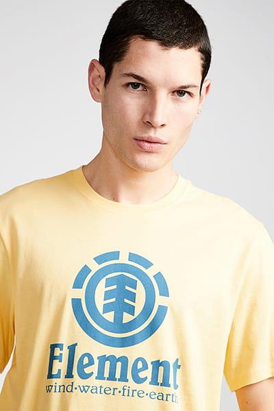 Муж./Одежда/Футболки/Футболки Мужская футболка с коротким рукавом Vertical