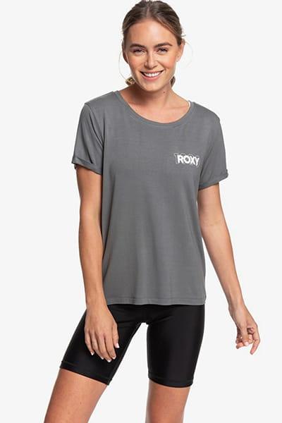 Персиковый женская спортивная футболка simple little song