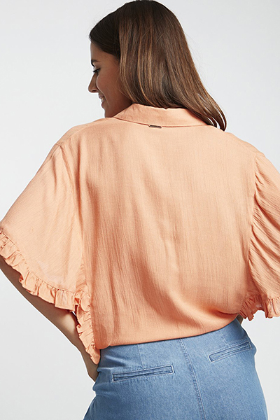 Жен./Одежда/Блузы и рубашки/Блузы Топ на пуговицах Find Me