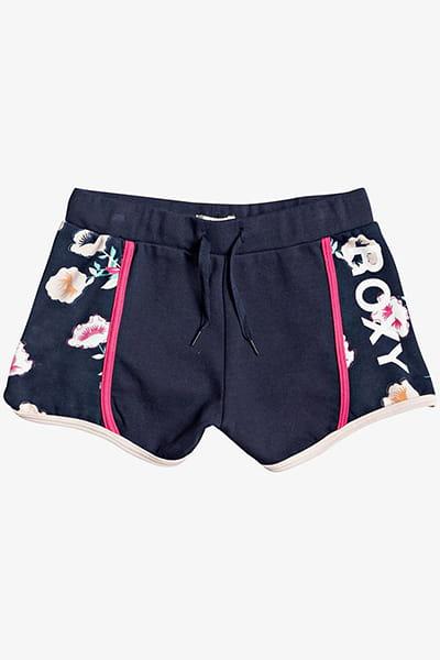 Персиковый детские спортивные шорты wanna be you 4-16