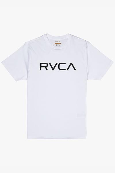 Белый мужская футболка big