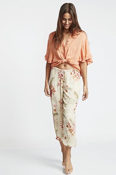 Жен./Одежда/Джинсы и брюки/Широкие брюки Штаны из вискозы Sweet Surf