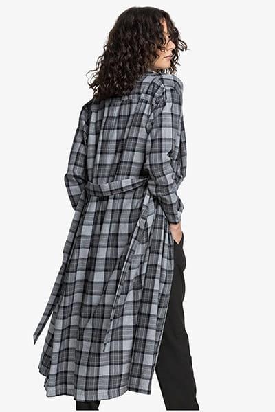 Жен./Одежда/Рубашки/Рубашки с длинным рукавом Женская удлинённая рубашка с длинным рукавом Womens