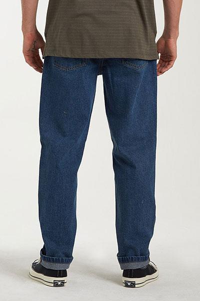 Муж./Одежда/Джинсы и брюки/Прямые джинсы Эластичные мужские джинсы Fifty