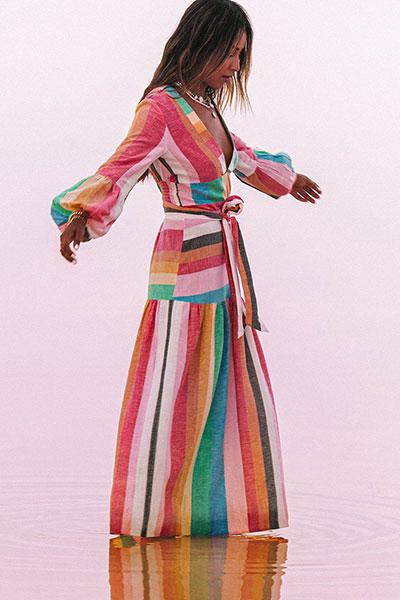 Платье S3DR39-BIP0 Multi