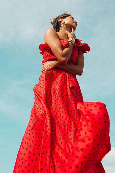 Платье S3DR38-BIP0 Red