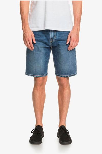 """Зеленые мужские джинсовые шорты aqua cult aged 20"""""""