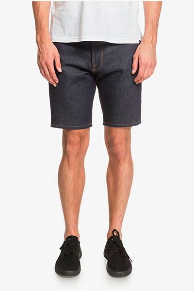 """Зеленые мужские джинсовые шорты modern wave 18"""""""