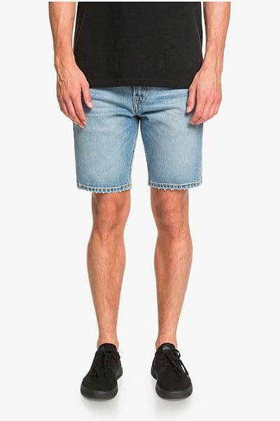 """Зеленые мужские джинсовые шорты modern wave salt water 18"""""""