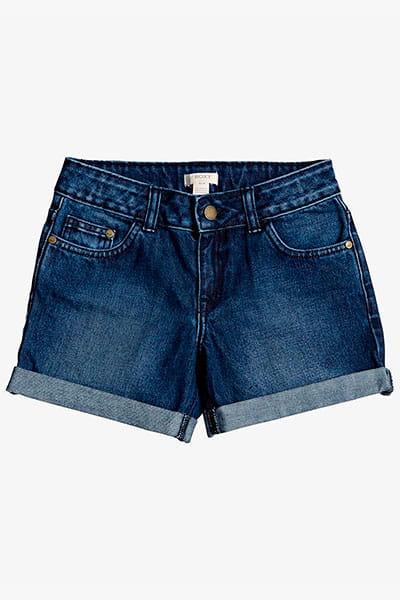 Оранжевый детские джинсовые шорты friend zone 4-16