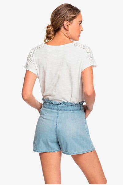 Жен./Одежда/Шорты/Джинсовые шорты Женские джинсовые шорты с высокой талией Salento Playa