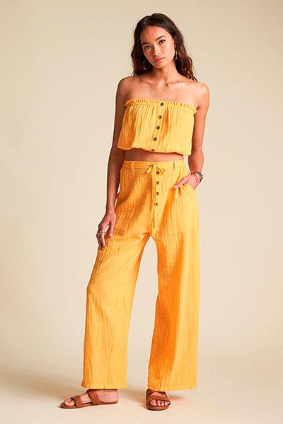 Жен./Одежда/Джинсы и брюки/Широкие брюки Трикотажные штаны Bring On