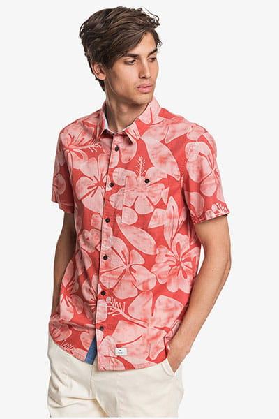 Мультиколор мужская рубашка с коротким рукавом sable dor