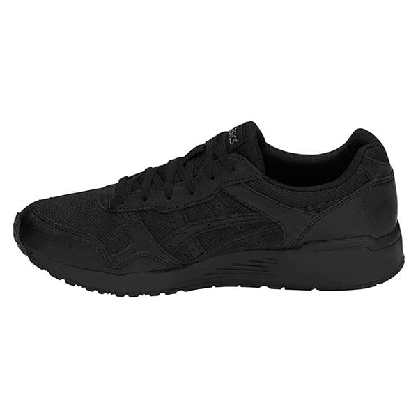 Черные кроссовки asics lyte-trainer