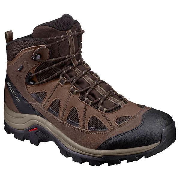 Муж./Туризм/Обувь/Трекинговые ботинки Ботинки Salomon SHOES AUTHENTIC LTR GTX® Black Coff/Choc