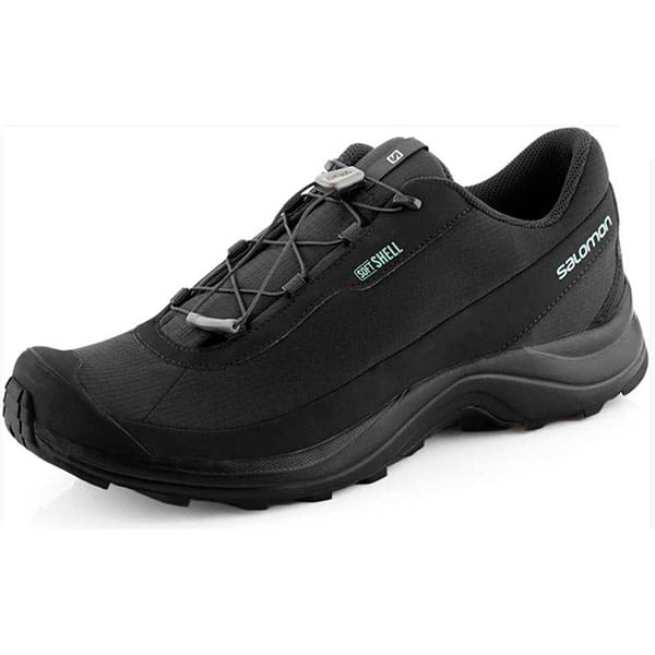 Муж./Туризм/Обувь/Трекинговые ботинки Кроссовки Salomon FURY 3 BLACK/BLACK/BLACK