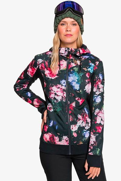 Жен./Одежда/Куртки/Толстовки на молнии Женская флисовая толстовка на молнии Frost Printed