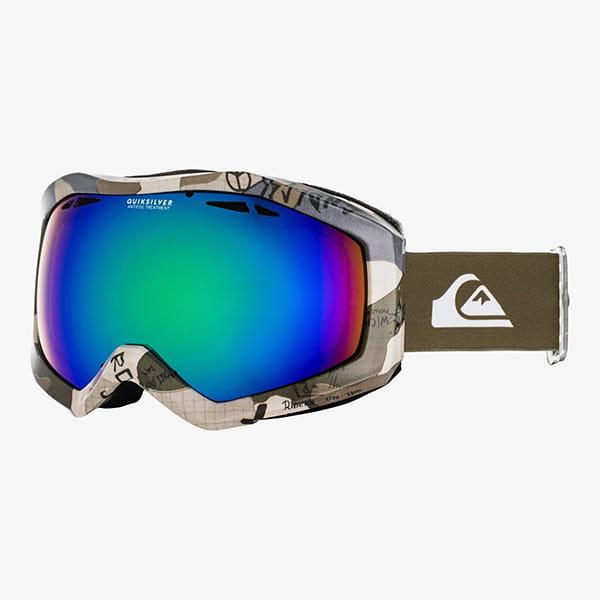 Голубой детская сноубордическая маска fenom jr 8-16