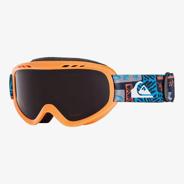 Голубой детская сноубордическая маска flake 2-7