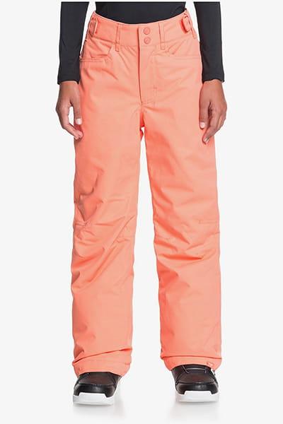 Розовый детские сноубордические штаны backyard 8-16