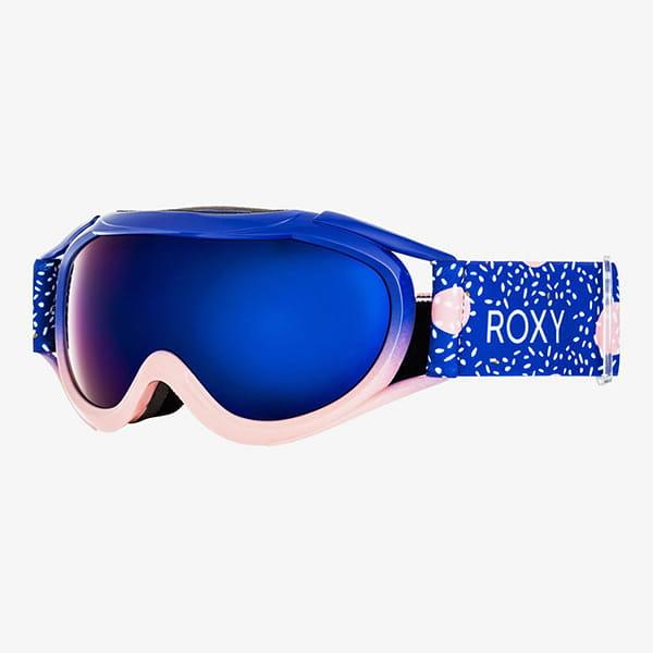 Голубой детская сноубордическая маска loola 2.0