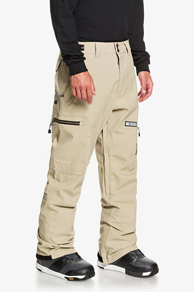 Муж./Сноуборд/Штаны для сноуборда/Штаны для сноуборда Мужские сноубордические штаны Division Shell