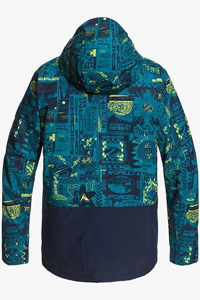 Муж./Сноуборд/Куртки для сноуборда/Куртки для сноуборда Мужская сноубордическая куртка Mission Printed Block