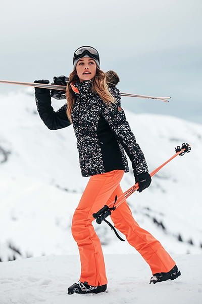Розовый женские сноубордические штаны summit
