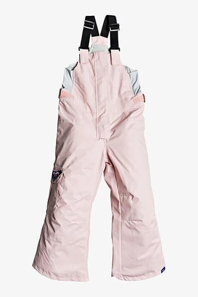 Розовый детские сноубордические штаны lola 2-7