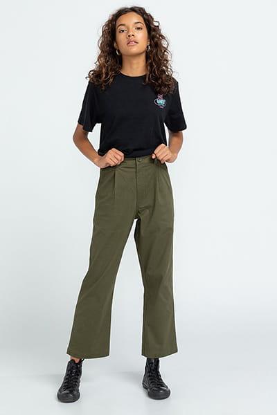 Жен./Одежда/Штаны/Широкие брюки Укороченные женские брюки Olsen