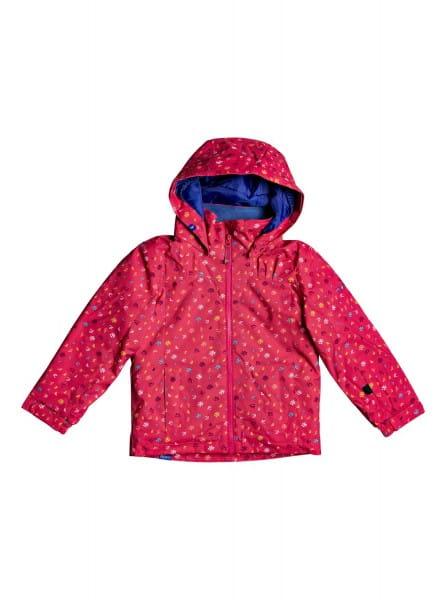 Розовый детская сноубордическая куртка mini jetty 2-7