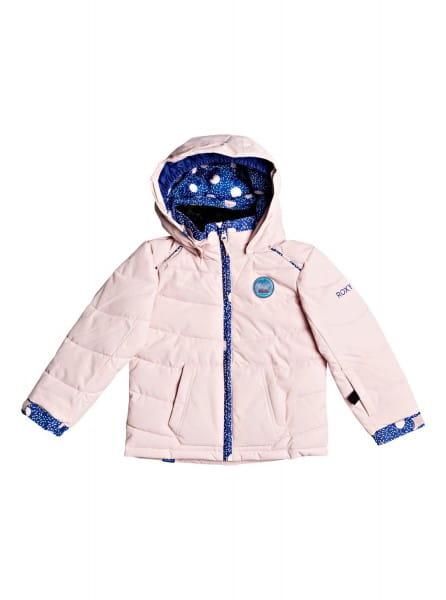 Розовый детская сноубордическая куртка anna 2-7