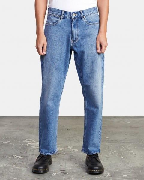 Муж./Одежда/Джинсы и брюки/Прямые джинсы Мужские джинсы прямого кроя New Dawn