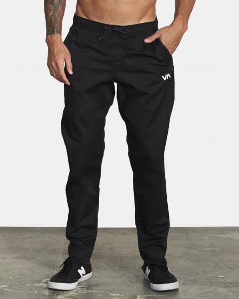 Муж./Одежда/Джинсы и брюки/Джоггеры Брюки Rvca Spectrum Pant Iii Black