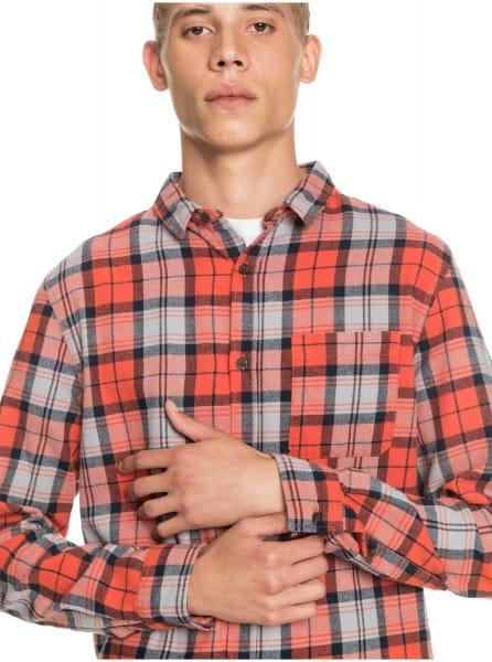 Муж./Одежда/Рубашки/Рубашки с длинным рукавом Рубашка QUIKSILVER Theplaidflannel Chilli Plaid Flannel