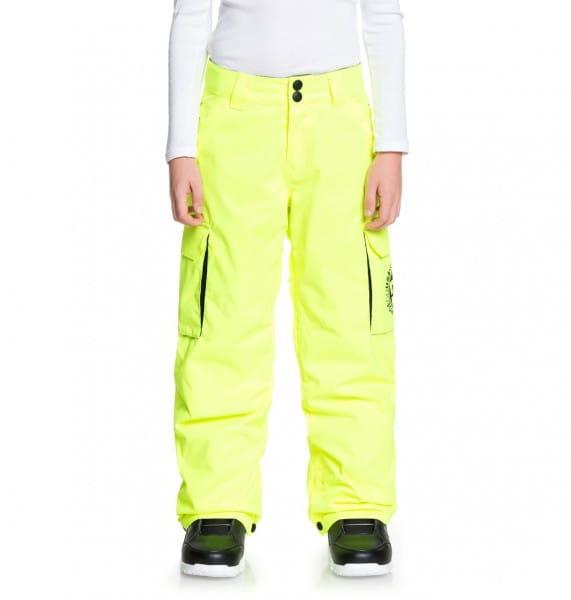 Коричневый детские сноубордическе штаны banshee 8-16