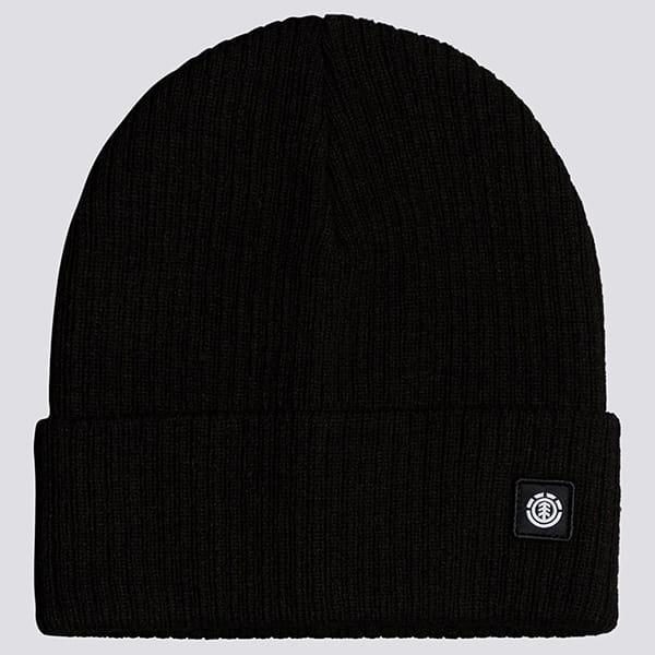 Черные мужская шапка flow